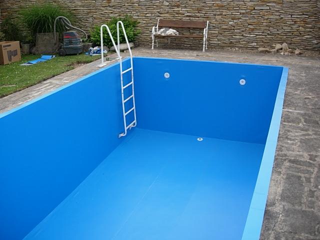 Rekonstrukce bazénu