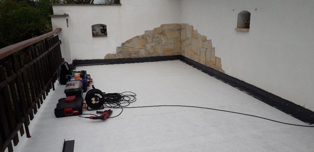 Rekonstrukce terasy